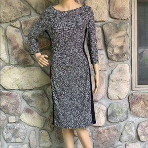 Lauren Ralph Lauren Black and White Dress Size 6